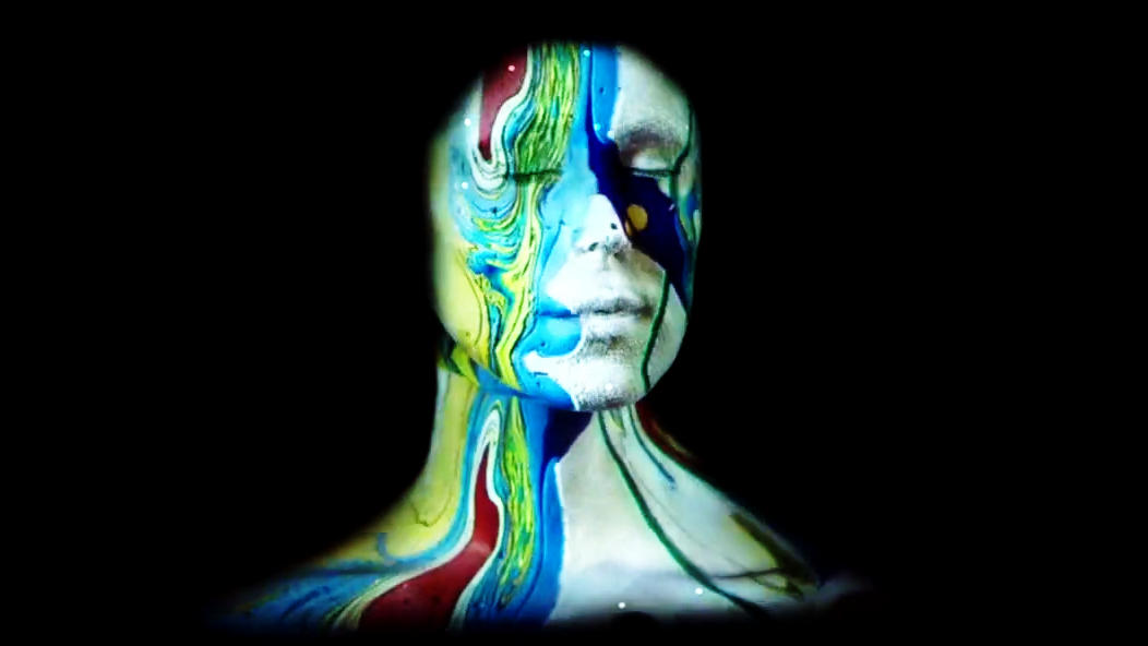 Live face projection mapping looks cooler than it sounds