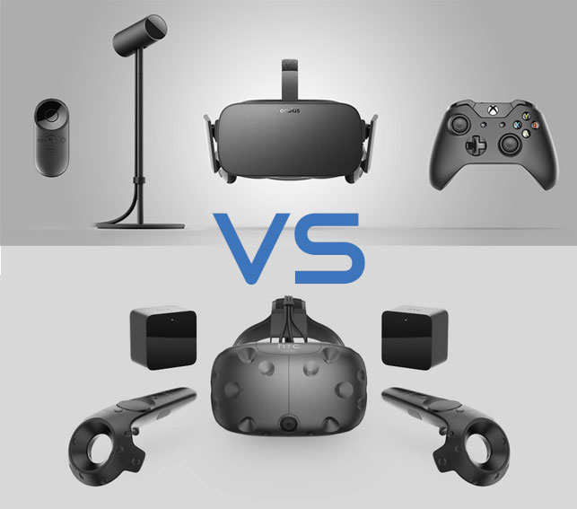 Battle of the FOVs: Vive vs Rift