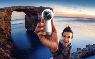 Samsung just launched the new Gear 360