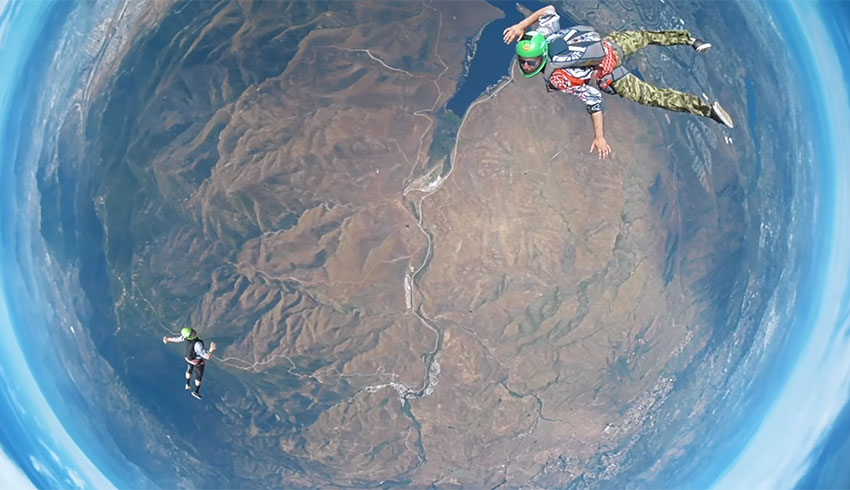 Skydiving With Tunnel Vision