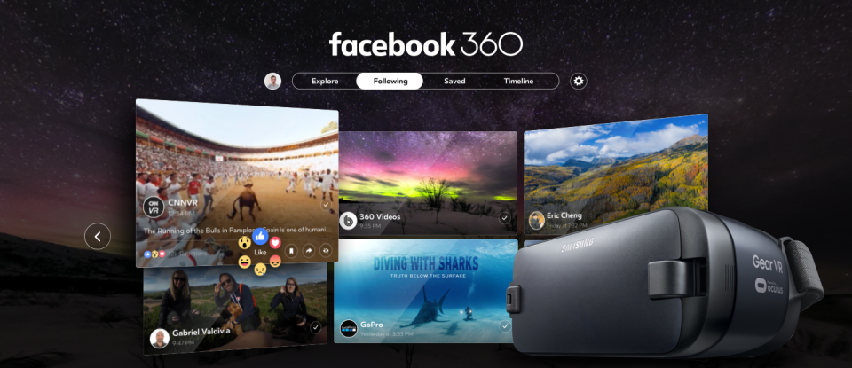 Facebook Adds 4K 360 Video Streaming Support