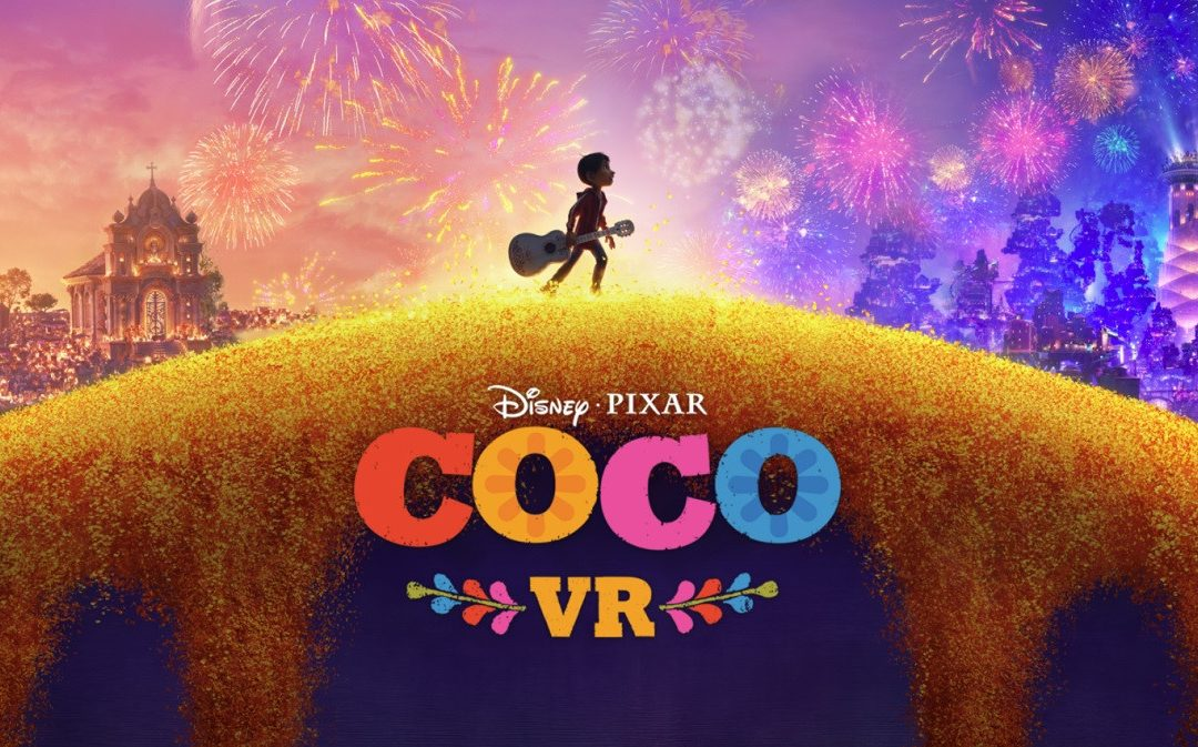 "Pixar's Virtual Reality debut with  ""Coco VR"""
