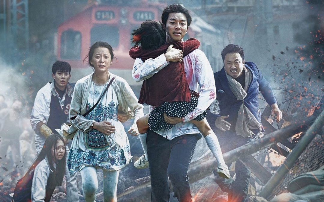 The South Korean movie 'Train to Busan', now, as a VR experience