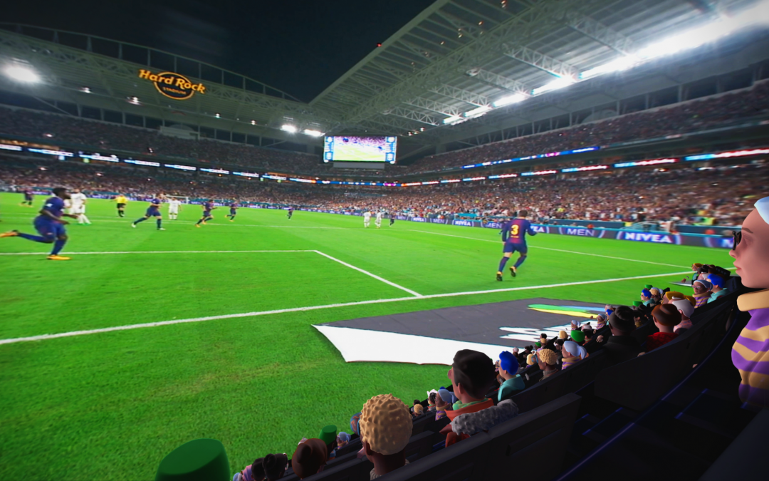 The World Cup – now as a  VR experience