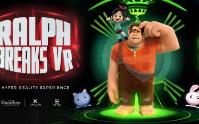 "New VR Disney experience – ""Ralph Breaks VR"""