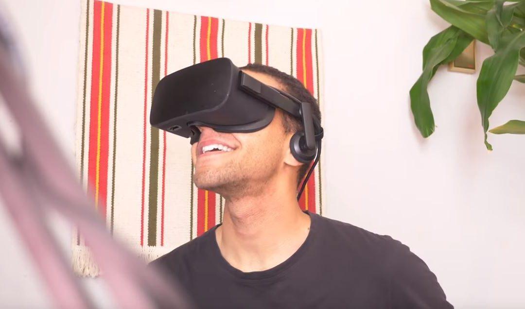 VR 매체에 일주일 동안 살았던 남자